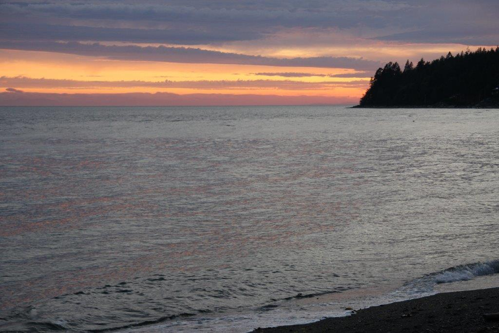 Ocean Beach Esplanade sunset colourful (Boranka)