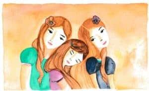 Die Geschichte der drei Schwestern
